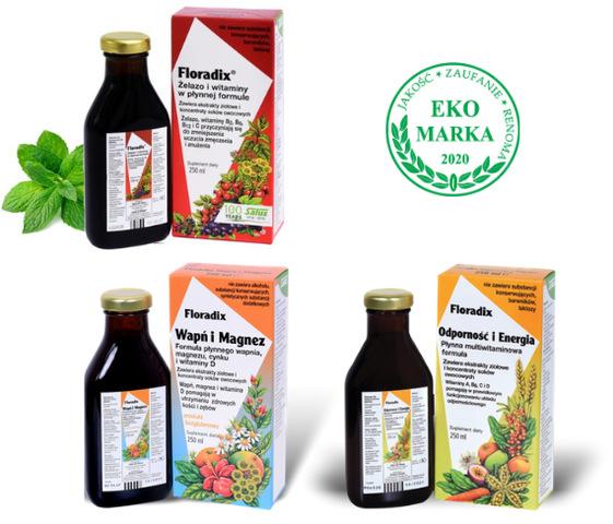 Floradix naturalne suplementy diety