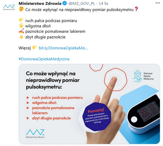 Ministerwto Zdrowia Twitter