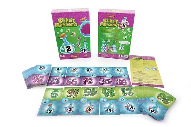 Gra dla dzieci Eliksir Mnożenia