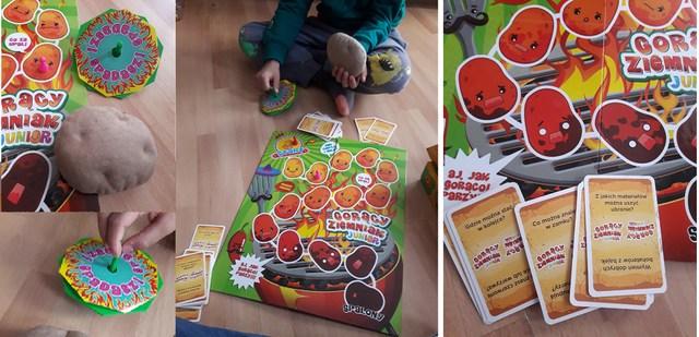 Goracy ziemniak junior gra dla dzieic