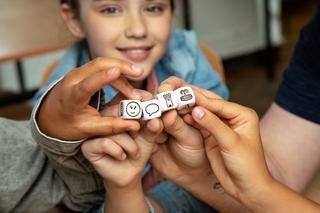 Gra dla dzieci Rebel Story Cubes