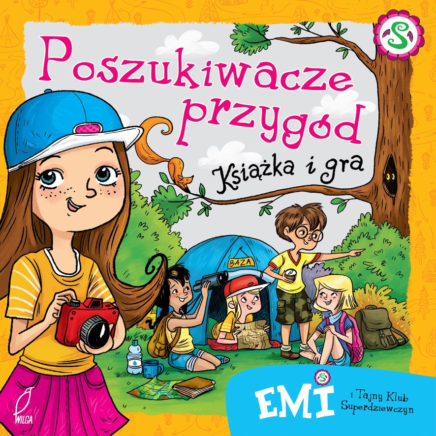 Emi Poszukiwacze Przygód - gra planszowa i książka