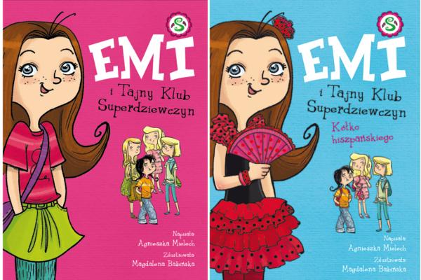 Emi i Tajny Klub Superdziewczyn Tom 1 i 2