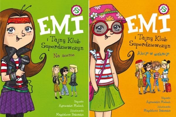 Emi i Tajny Klub Superdziewczyn Tom 3 i 4