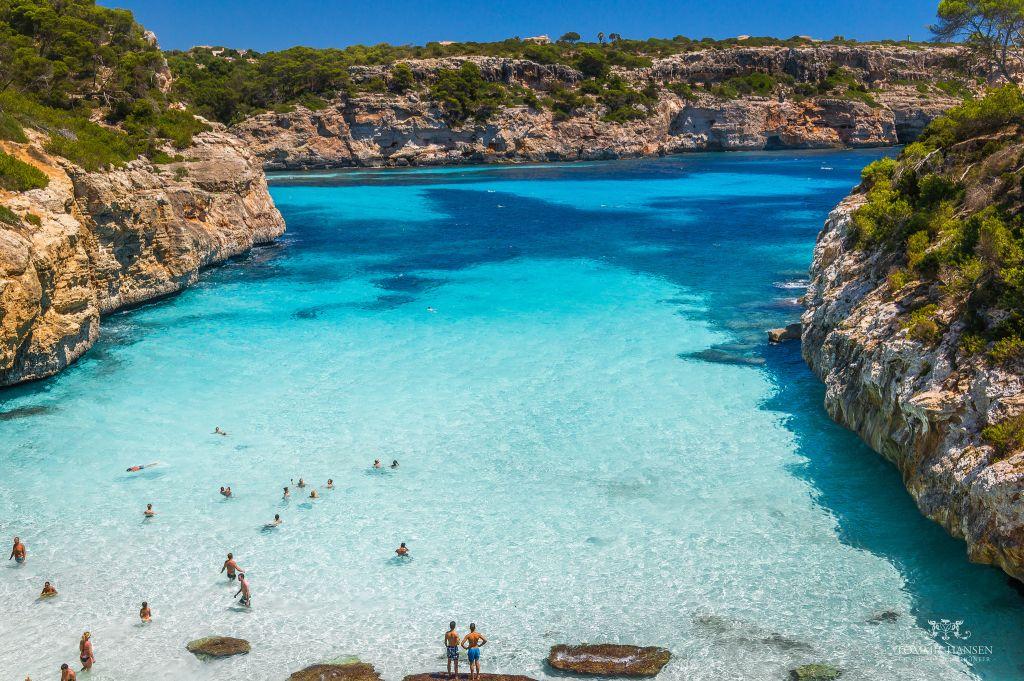 Piękna plaża na Majorce